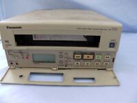Vintage Panasonic AG-6124 Professional Time Lapse VHS Recorder for Repair Faulty