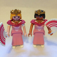 Playmobil Princesses / Lady figures in pink for Magic Fairytale Palace Castles