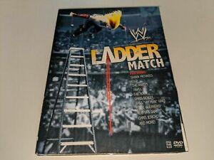 THE LADDER MATCH WWE Wrestling 3-Disc DVD Set Shawn Michaels/Hardy Boyz/RVD +++