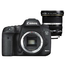 Canon EOS 7D MARK II DIGITAL SLR BODY + EFS 10-22mm f / 3.5-4.5 USM