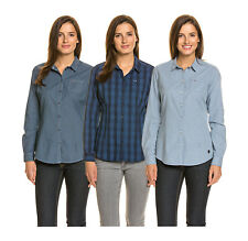 NAPAPIJRI Damen Bluse weicher Baumwolle Größe M XS
