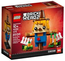 Lego 40352, BrickHeadz Scarecrow Rare New & Sealed, Halloween, Retired!