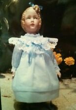 "Heubach 8"" Antique Repro Girl Porcelain Doll Dress Kit Pattern Instructions New"