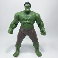 "2012 Incredible Hulk 10"" Talking Smash Action Figure Marvel Avengers Hasbro Toy"