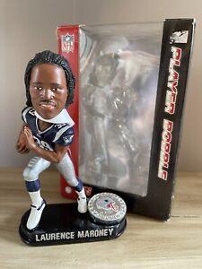 LAURENCE MARONEY New England Patriots / Minnesota Gophers Bobblehead NIB!