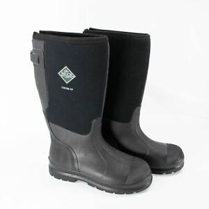 NEW Muck Boot Company Chore XF Work Boots Extended Fit Sz 9 Mens 10 Women Black