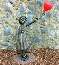 Banksy Girl With Balloon Statue Sculpture Model Replica Gift Artist Graffiti UK