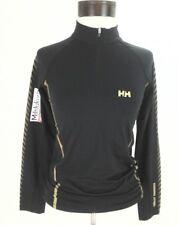 VEUC HELLY HANSEN Training MILSLUKER'N Sport Jersey Active Shirt Black/Gold S