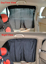 2PCS Car SunShade Window Curtain With Suckers Car Screen Solar Protection