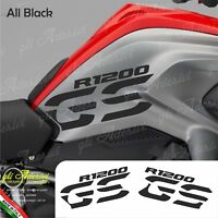 Set Adesivi Fianco Serbatoio Moto BMW R 1200 gs LC All Black
