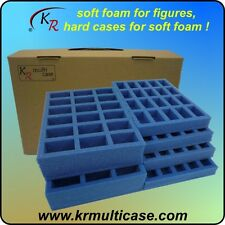 KR Multicase and trays for 36 cavalry & 80 troops, 28mm, 25mm, or 20mm (E-216)