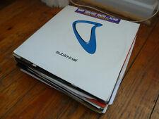 35 Progressive House Records Collection/Joblot. Blakkat Chris Lake Park & Birch
