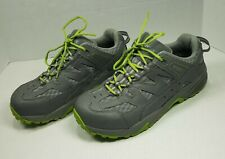 Worx 9306 Mens US9M EUR40 By Red Wing Shoes Steel Toe Work Gray Lime Green