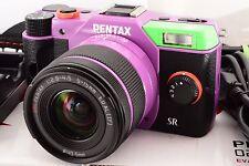 PENTAX Q10 Digital Camera Evangelion model Type01 w/5-15mm lens from Japan 613