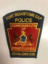 FORT INDIANTOWN GAP PENNSYLVANIA POLICE PATCH