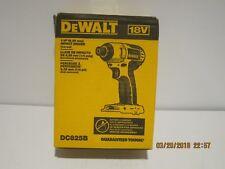 """DeWALT DC825B 18V Li-Ion 1/4"""" Cordless Impact DRIVER-(BARE TOOL)F/SHIP NWOB!!!!"""