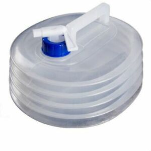 Cubo de agua transparente retráctil plegable portátil contenedor de