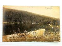 Vintage Postcard 1910's Cleversburg Dam South Mountain PA Pennsylvania