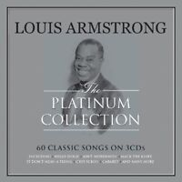 LOUIS ARMSTRONG - PLATINUM COLLECTION  3 CD NEW!