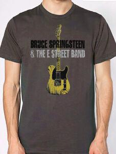 bruce springsteen T-shirt grey