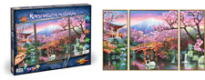 Cherry Blossom in Japan Painting by Numbers 609260751 SCHIPPER Triptych 50x80cm