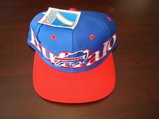 BUFFALO BILLS LOGO7 7  BIG LOGO  SCRIPT VINTAGE 90'S HAT CAP  SNAPBACK