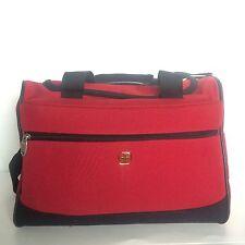 Swiss Gear Travel Shoulder Bag Red Day Pack Hiking Camping Duffel Duffle Bag
