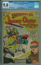 SUPERMAN'S PAL JIMMY OLSEN #29 CGC 9.0 OW/WH PAGES