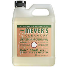 Mrs Meyers Clean Day Hand Soap Refill 33 Oz Geranium Scent