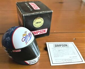 Simpson 1/4 Scale Helmet Rusty Wallace Signature Edition Miller Lite