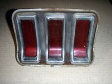 1967 FORD MUSTANG FACTORY PASSENGER SIDE R/H TAIL LAMP TAIL LIGHT ASSEMBLY