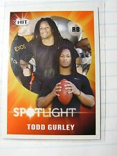 Todd Gurley 2014 Sage Hit Spotlight College / Rookie Card Los Angeles Rams NFL 9