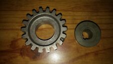 Used slick (Champion) magneto drive gear with the bushing, has 18 teeth