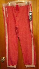 BAKU pastel sleep pants 3XL heather red XXXL woman's athletic wear w/ pockets