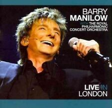 Live in London by Barry Manilow (CD, 2012, Stiletto Entertainment)