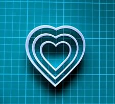 HEART BISCUIT CUTTER SEAMLESS COOKIES CRAFT CAKE DECORATING SUGARCRAFT