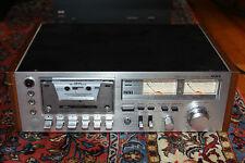 """Vintage AIWA AD-6550_Top line Cassette Deck """"PARTS OR REPAIR"""""""