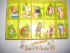 Ü Ei Serie (1) Crazy Crocos EU 1991 (Bauch orange) mit BPZ und Box