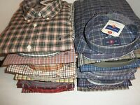 NWT Saddlebred Mens Big & Tall Wrinkle Free Plaid Shirt: 2X 3X 4X XLT 2XLT 3XLT