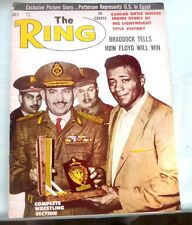 THE RING BOXING BOXER EGYPT CAIRO MILITARY GENERALS PATTERSON 1962