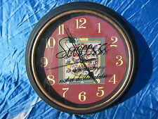 "Green Bay Packers NFL Wall Clock  12"" Success Is A Journey Not A Destination"