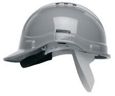 Scott HC300 Vented Safety Helmet Hard Hat Grey with Sweatband & Terylene Cradle