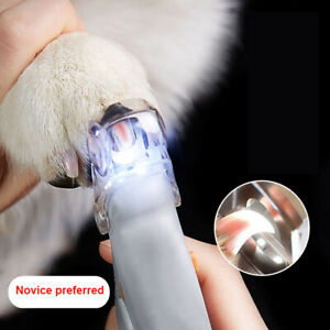 NEW Toe LED Light Nail Clippers Cutter Trimmer Pet Dog Cat Claws5X Magnification