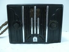Antique Emerson Bakelite Extreme Art Deco Radio