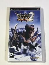 PLAYSTATION PORTABLE PSP GAME MONSTER HUNTER FREEDOM 2