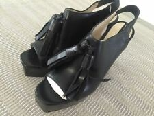 Block Party Slingback 100% Leather Heels for Women