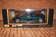 Maisto - Special Edition - McLaren F1 - 1:18 - Green - FAST/FREE SHIPPING!!!