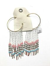 Ears) -New W/ Tag Anthropologie Borges Hoop Earrings(For Pierced