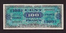 F.C. FRANCIA FRANCE , 100 FRANCOS 1944 , MBC- ( VF ) , PLANCHADO , P.123c .