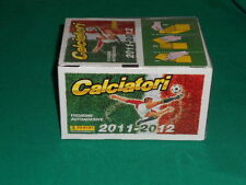 BOX SIGILLATO X 100 BUSTINE CALCIATORI PANINI 2011 2012 12 ALBUM FIGURINE SALED